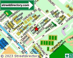 HERTFORD MANSION | Location & Map