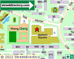 JACKSON SQUARE | Location & Map