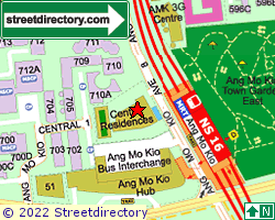 CENTRO RESIDENCES | Location & Map