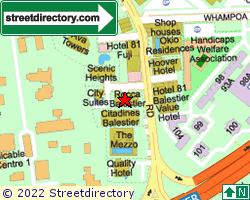 ROCCA BALESTIER | Location & Map
