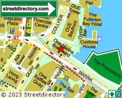 ONE MARINA BOULEVARD | Location & Map