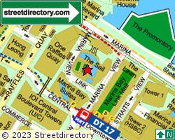 THE SAIL @ MARINA BAY | Location & Map