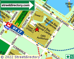 MARINA BAY FINANCIAL CENTRE TOWER 2 | Location & Map