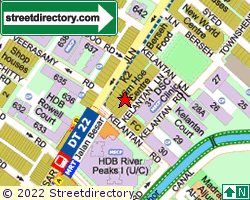 3 KELANTAN LANE | Location & Map