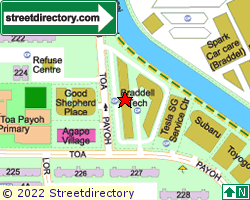 BRADDELL TECH | Location & Map