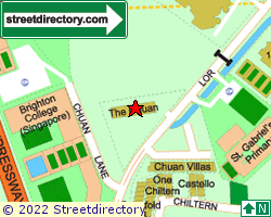 THE CHUAN | Location & Map