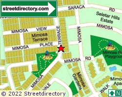 MIMOSA TERRACE | Location & Map