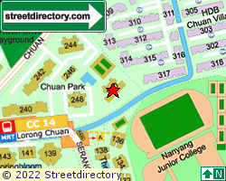 CHUAN PARK | Location & Map