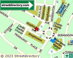 SERANGOON GARDENS ESTATE | Location & Map