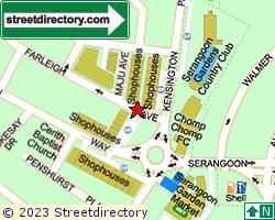 SERANGOON GARDEN ESTATE | Location & Map