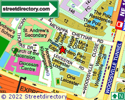LEICESTER SUITES | Location & Map