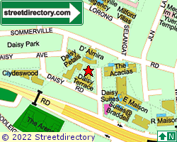 DAISY TERRACE | Location & Map