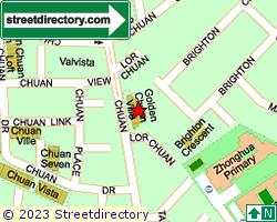 GOLDEN CHUAN VILLE | Location & Map