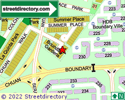 BOUNDARY GARDENS | Location & Map