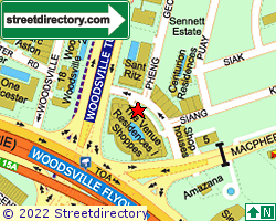 THE VENUE RESIDENCES | Location & Map