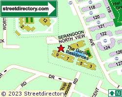 THE GARDEN RESIDENCES | Location & Map