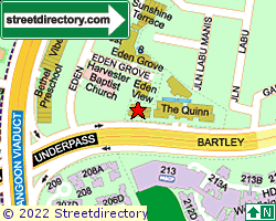 THE QUINN | Location & Map