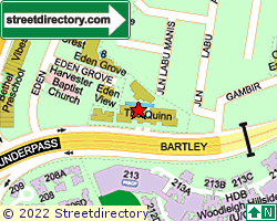 BARTLEY GROVE APARTMENTS | Location & Map
