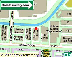 BAN TECK HAN BUILDING | Location & Map