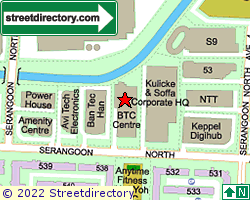 BTH CENTRE | Location & Map