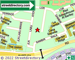 GAMBIR GARDENS | Location & Map