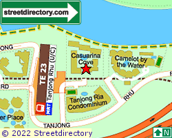 CASUARINA COVE | Location & Map