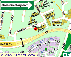 BARTLEY TERRACE | Location & Map