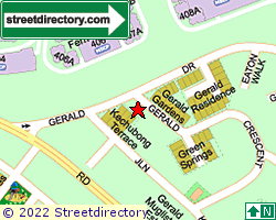 GERALD GARDENS | Location & Map
