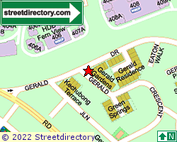 GERALD RESIDENCE | Location & Map