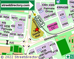 THE SELETAR MALL | Location & Map