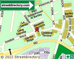CLASSICAL TERRACE | Location & Map