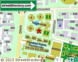 REGENTVILLE | Location & Map