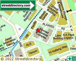 ALJUNIED INDUSTRIAL COMPLEX | Location & Map