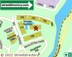 SELETAR SPRINGS CONDOMINIUM | Location & Map
