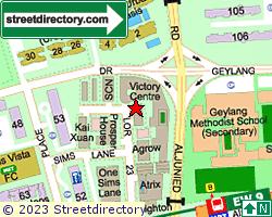 D'CENTENNIAL | Location & Map