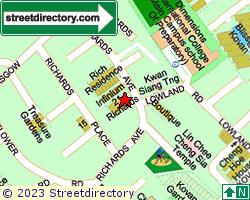 RICHARDS MANSIONS | Location & Map