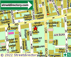 #1 SUITES | Location & Map