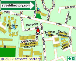 PARRYVILLE | Location & Map