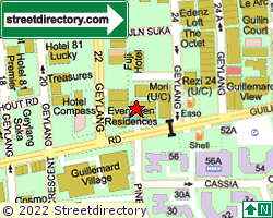 GUILLEMARD SUITES | Location & Map