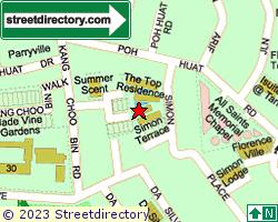 SIMONVILLE | Location & Map