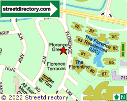 FLORENCE TERRACE | Location & Map