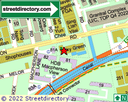 MACPHERSON GREEN | Location & Map