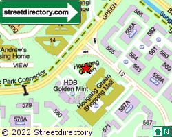 HOUGANG GREEN | Location & Map