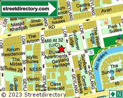 PENANG SERVICE APARTMENTS | Location & Map