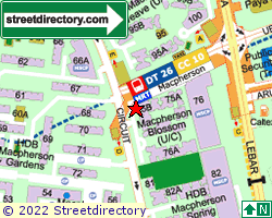 SWEE HONG INDUSTRIAL BUILDING | Location & Map