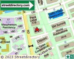 ORION @ PAYA LEBAR | Location & Map