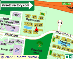 BELLEWATERS | Location & Map