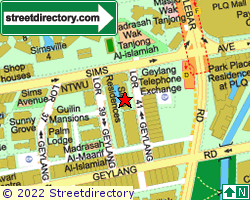 SIMS RESIDENCES | Location & Map
