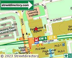 PAYA LEBAR SQUARE | Location & Map