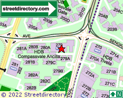 BLK 279, Sengkang East Avenue | Location & Map